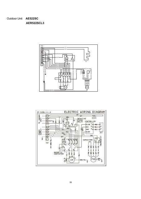 Split System Air Conditioner Wiring Diagram
