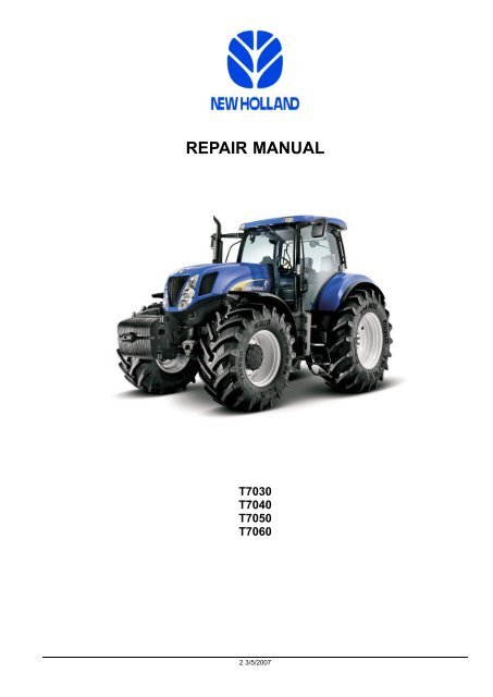 New Holland Tractor Air Conditioning Problems