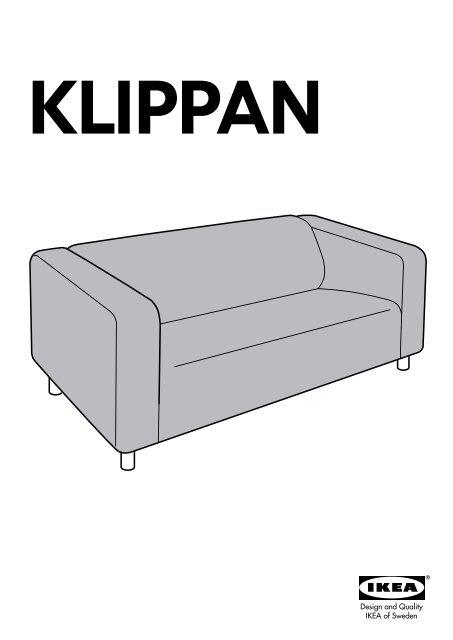 Divani 2 3 Posti Ikea : divani, posti, KLIPPAN, 10324872, Assembly, Instructions
