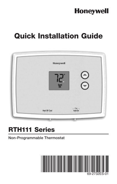 2wire Programmable Thermostat Wiring Diagram Honeywell Thermostat Rth111 Schematic Diagram Honeywell