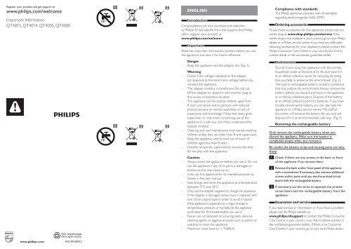 Philips Norelco Beardtrimmer 3100 Beard trimmer, Series