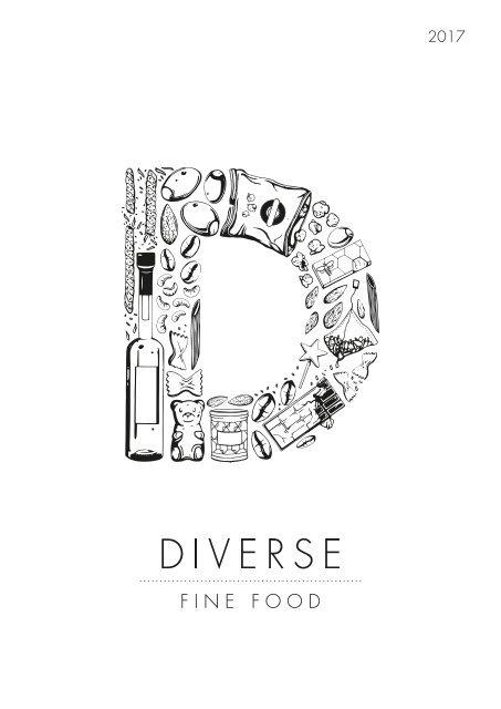 Diverse Fine Food 2017 Annual Catalogue