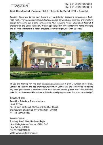 home architecture design delhi brightchatco