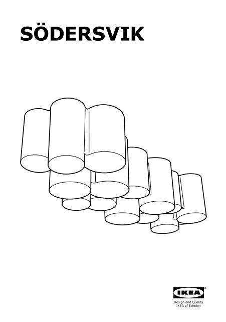 Ikea SÖDERSVIK Illuminazione Mobile/parete A Led