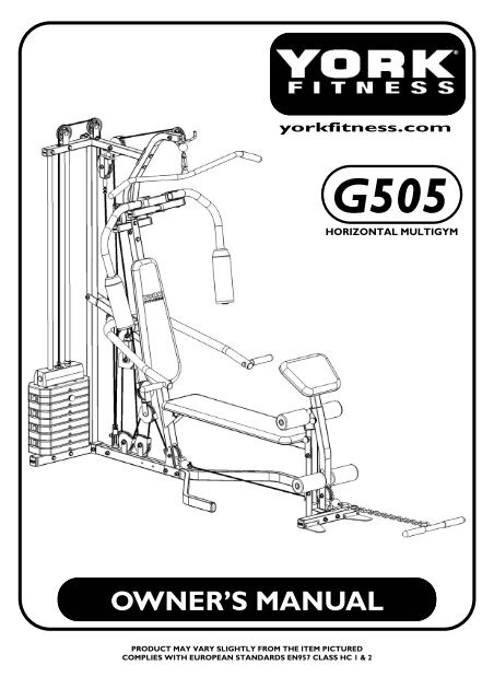 Best Compact Elliptical Blog: York Fitness Bench Assembly