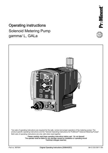 Bran & Luebbe Metering Pump Mfg: Bran & Luebbe Model: N-D