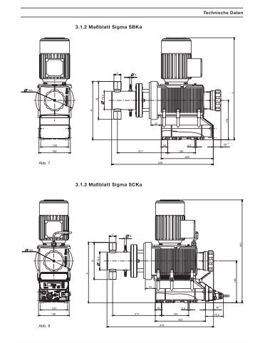 Membran-Motordosierpumpe Sigma/ 2 Controltyp S2Ca