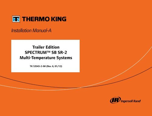 THERMO KING APU WIRING DIAGRAM - Auto Electrical Wiring