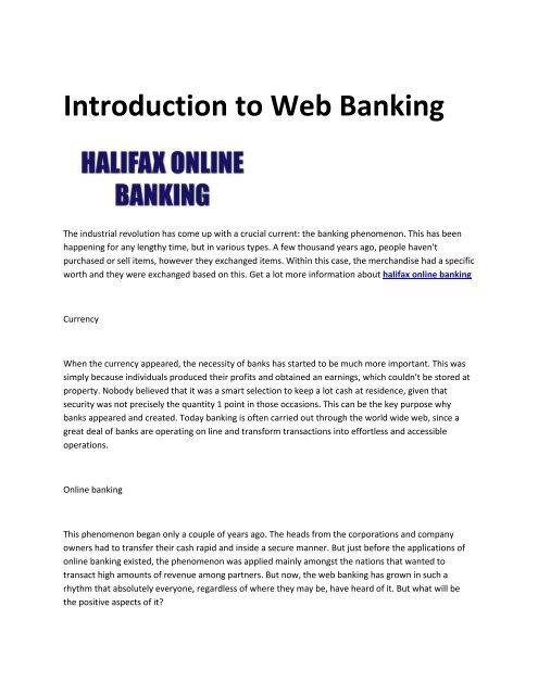 8 Halifax Online Banking Login