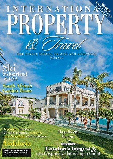 International Property Travel Vol 24 No 1 January