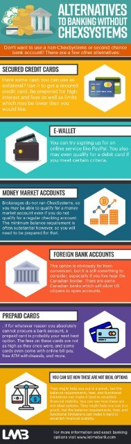 Banks That Don T Use Chexsystems Near Me : banks, chexsystems, Alternatives, Banking, Without, ChexSystems