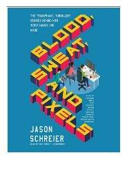 Blood Sweat And Pixels : blood, sweat, pixels, Ebook]^^, Blood,, Sweat,, Pixels:, Triumpha