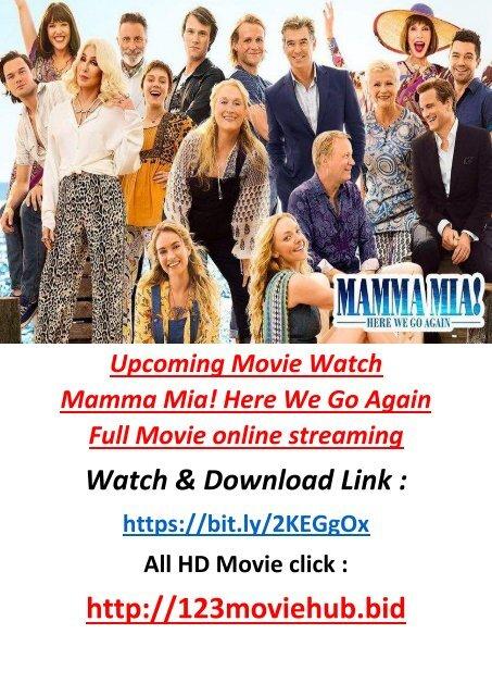 Mamma Mia Here We Go Again Streaming : mamma, again, streaming, F-R-E-E, Watch, Mamma, Again, Movie, Online, STREAM