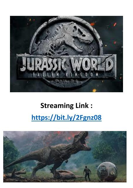 Jurassic World: Fallen Kingdom Streaming : jurassic, world:, fallen, kingdom, streaming, 720HD-Live, Watch, Jurassic, World, Fallen, Kingdom, Streaming, Online, Movie