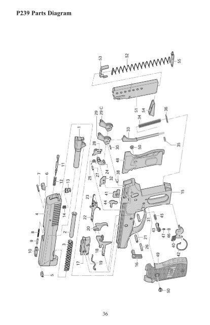 P239 Parts Diagram 36