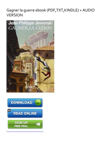 Gagner La Guerre Epub Gratuit : gagner, guerre, gratuit, EXHILARATED), Gagner, Guerre, Ebook, EBook