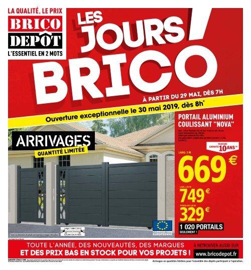brico depot 29 mai 13 juin 2019