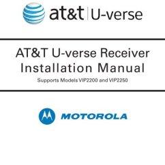 Atampt U Verse Connection Diagram Kubota Starter Wiring At T Receiver Installation Manual Supports Models