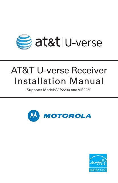 atampt u verse connection diagram temperate forest food web at t receiver installation manual supports models