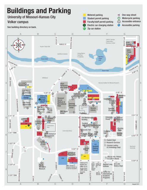 University Of Kansas Map : university, kansas, Volker, Campus, University, Missouri, Kansas