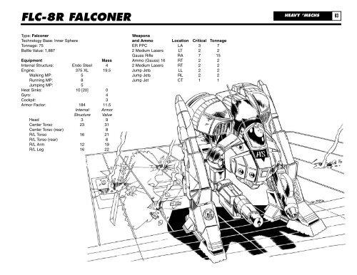 FLC-8R FALCONER HEAVY