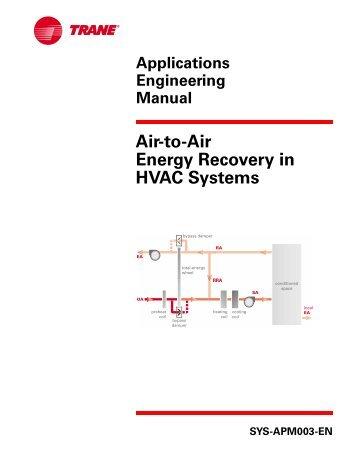 Air Handling Unit: Air Handling Unit Trane Catalogue
