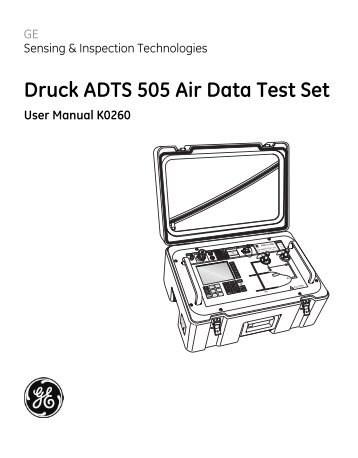 MPS27C Military Air Data Test Set