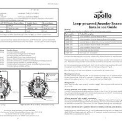 Apollo 65 Base Wiring Diagram Dual Battery Switch Unique Marine Orbis Smoke Detector 42 Loop Powered Sounder Beacon Fire Detectors Limited Resize 358 2c254 Ssl