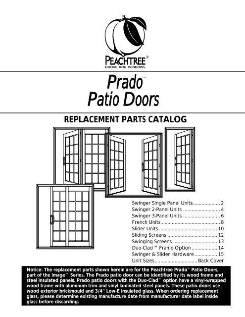 prado patio doors peachtree doors