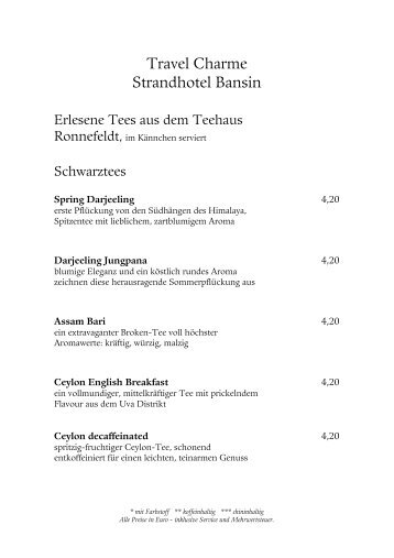 Kaffeekarte Magazine