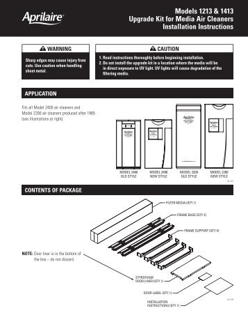 Trane Wiring Diagrams Model Installation Instructions. Trane ...