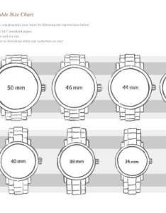 also relic watch printable size chart fossil rh yumpu