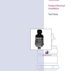 Danfoss Pressure Transmitter Mbs 3000 Wiring Diagram 4 Pin Relay Starter Transducer Manual E Books Electrical Specifications