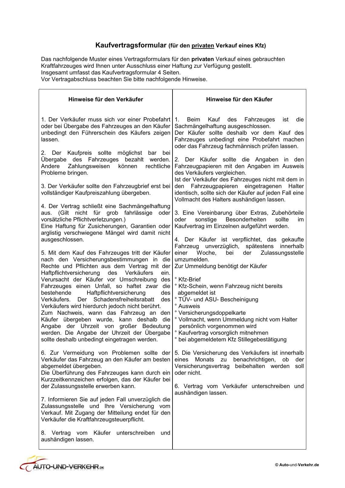 Kaufvertrag Handy Muster Kaufvertrag Kfz Kfz Kaufvertrag Kfz