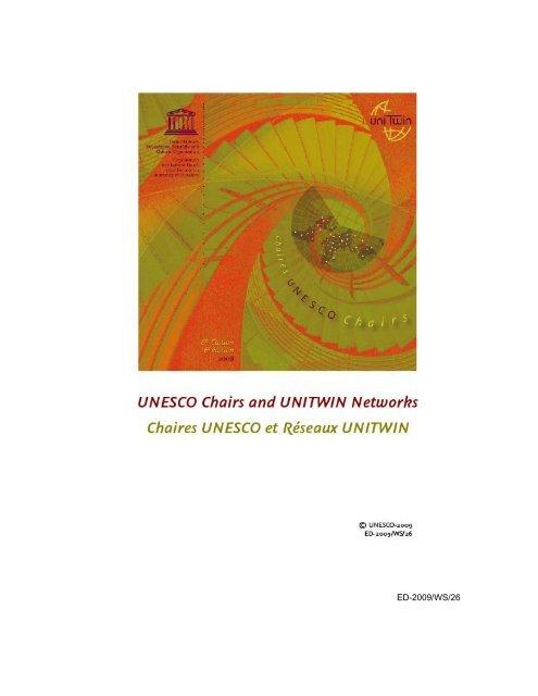 Dr Gus Landivar : landivar, UNESCO, Chairs, UNITWIN, Networks;, Unesdoc, Unesco