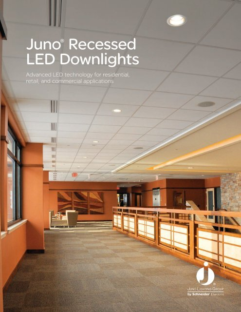 juno recessed led downlights juno