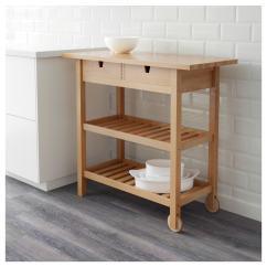Kitchen Trolley Cart Island Table With Granite Top 三餐记北欧风厨房推车 厨房推车