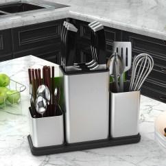 Kitchen Art Replacing Sink Sprayer Hose 厨房收纳神器 用镁铝合金演译中国厨房艺术 厨房艺术