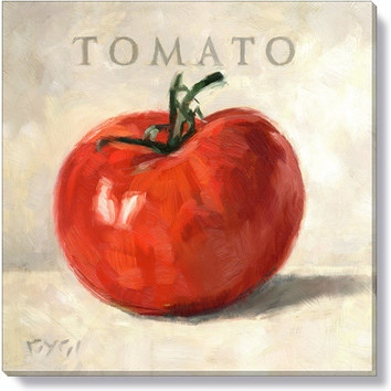 Gygi Tomato Canvas Wall Art  Temple  Webster