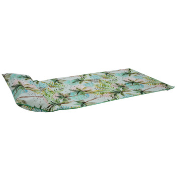 moon palm beach towel with inflatable pillow