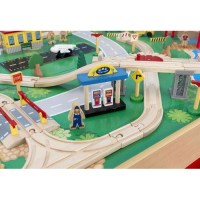 Waterfall Mountain Train Table and 120-pieces Set | Temple ...