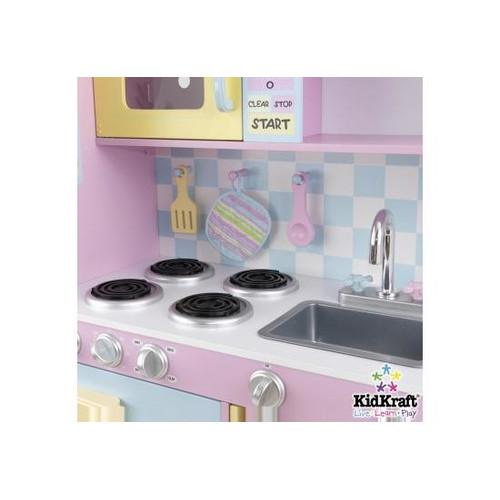 kidkraft large pastel play kitchen Large Play Kitchen in Pastel   Temple & Webster