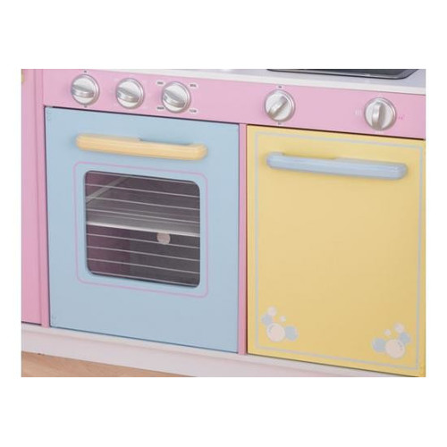 kidkraft large pastel play kitchen Large Play Kitchen in Pastel | Temple & Webster