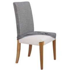 Stackable Chair Covers Australia White Leather Office Modern Home Innovations Grey Stretch Dining Room Cover Reviews Temple Webster