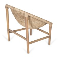 Woven Poly-Rattan Occasional Chair | Temple & Webster