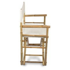 Bamboo Directors Chairs Lazy Boy Gaming Chair With Canvas | Temple & Webster