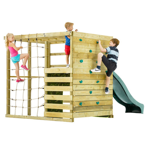 Childrens Climbing Cube  Slide  Temple  Webster