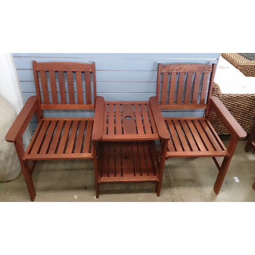 Jack And Jill Timber Seat