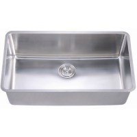 Extra Long Rectangular Deep Single Bowl Kitchen Sink with ...