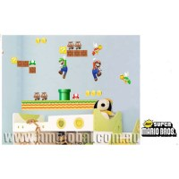 Super Mario Bros Removable Wall Sticker | Temple & Webster